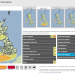 An amber severe weather warning for #wind has been issued: https://t.co/TmvTfmDfrK. Stay #weatheraware @metofficeuk https://t.co/wFHBwigwVf