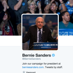 This is incredible. @BernieSanders changed his Twitter avatar to Larry David. #SNL has been brilliant tonight. https://t.co/iyDVzXx6iV