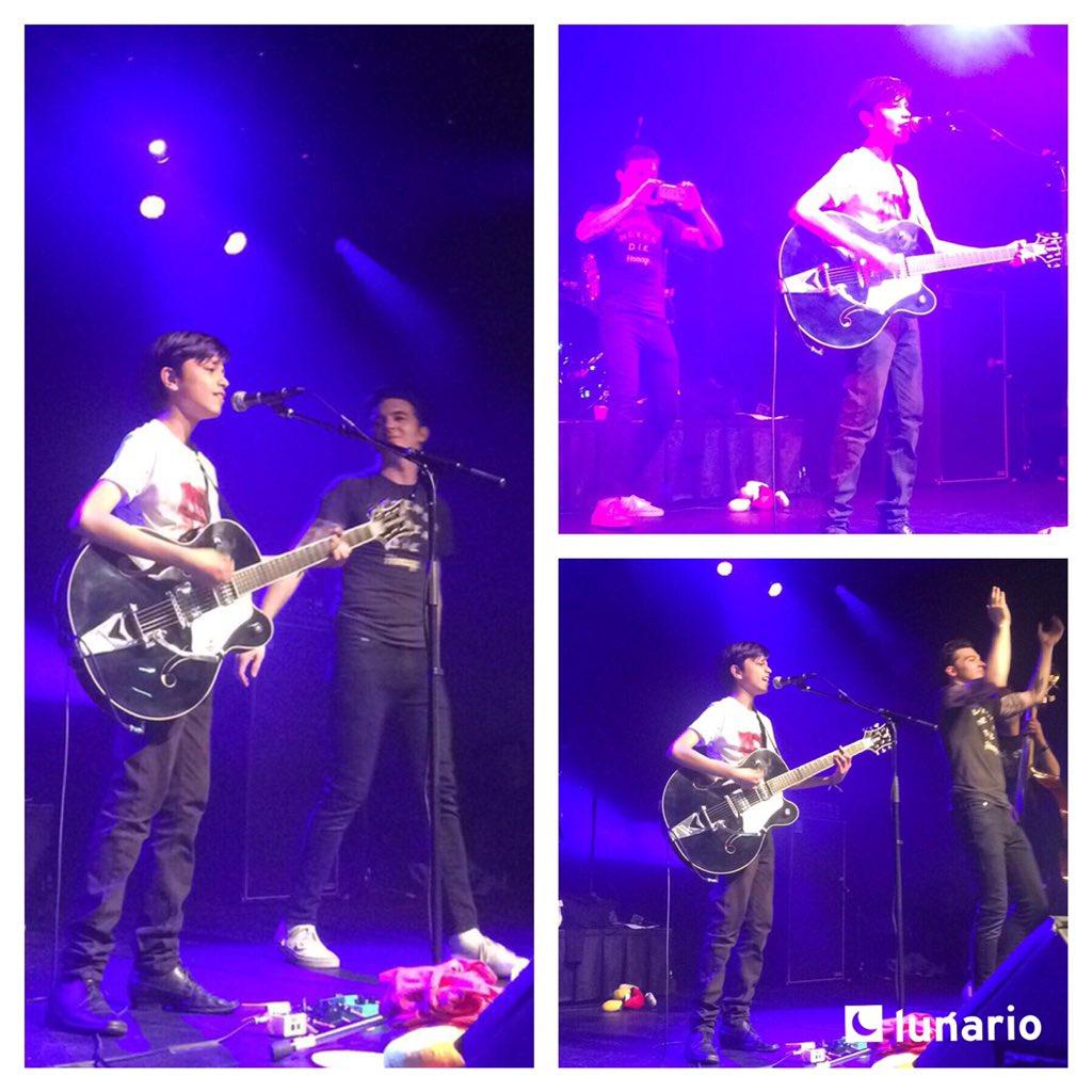 El sorprendido esta noche fue Andrés, fan de @DrakeBell, cuando el cantante y actor lo invita a echarse un palomazo https://t.co/3nKKekPmaw