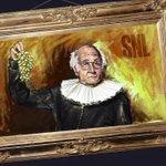 Larry David: National treasure and true artiste. #SNL https://t.co/MrtwAeYiRd