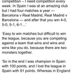 The gospel of La Liga according to Jose Mourinho https://t.co/y0z2NrZmGw