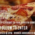 HUNGOVER? SKINT? NEED PIZZA?  We got you…  WIN EVERYTHING IN THIS PHOTO @ 8PM  RT & FOLLOW TO ENTER https://t.co/hmrkbCFXQq