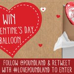 RT + Follow with #LovePoundland for a chance to #WIN 1 of 10 Valentines Day balloons! t&c: https://t.co/6vvo71Ytid https://t.co/KariEn3TaC