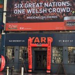 Our popupposts in place ready for a great day #IREvWAL @rbs_6_nations @WalesOnline @brainsbrewery https://t.co/NKXKwp2cVh