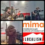 Now FREE #LiveMusic in #Middlesbrough at @mimamodernart for #Localism @oldmugginsband live! #aetAtLocalism https://t.co/nhgLhLlc2p