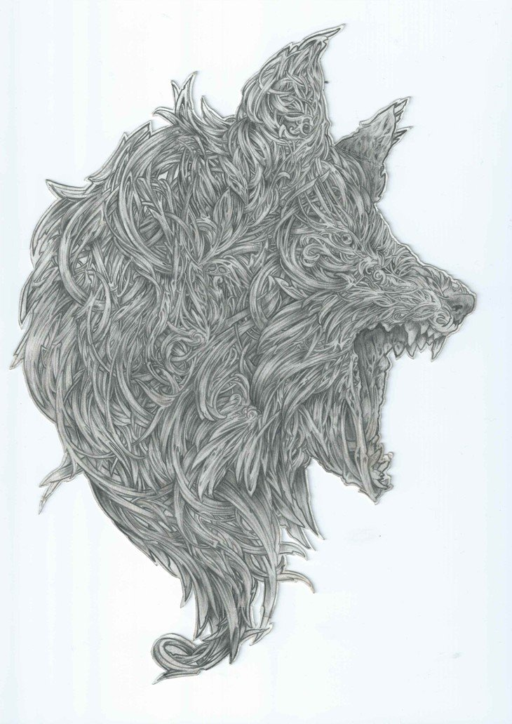 RT @hitRECord: Have you seen this wolf sketch from 'jessamyn' - https://t.co/KE0nyAlQFk? Outstanding! https://t.co/6ZbSB5Yxma