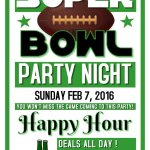 Joins us today for #SuperBowl50 food and drinks specials all day long!! @FrozenTropics @HStreetLive @theHillisHome @ https://t.co/isF9VmlFJQ