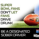 #SuperBowl fans dont let fans #DriveDrunk. Be a Designated Sober Driver. https://t.co/cUETnlV3eY