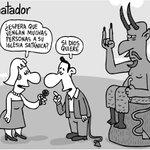Luciferino, por #Matador. Vean más caricaturas del día en @ELTIEMPO →https://t.co/aD2m3wdNHN https://t.co/vW9wBX4uWZ
