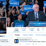 Look at what @BernieSanders did to his Twitter avatar: https://t.co/5hWhbLFiAg https://t.co/ZOwGjQcOnS