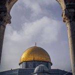 #صورة لقبة الصخرة المشرفة في المسجد الأقصى https://t.co/Nw6cFVWtHa