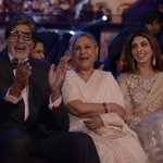 Cant explain in words ... when the legend @SrBachchan is laughing like kids .. Filmfare tonight .. sony tv 7 pm :) https://t.co/NSug57BtkP
