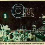 Carnaval de 1987 teve duelo visual na Sapucaí: as marcas da Globo e Manchete logo na entrada da Passarela do Samba https://t.co/PbmbuCJf3C