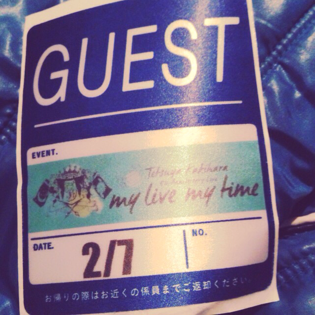 柿原徹也 5th Anniversary Live my live my timeお邪魔してきました! カッキー5周年おめでとー\(桃・ω・山)/! https://t.co/RndbnCssYd https://t.co/nvHfWyXBg3