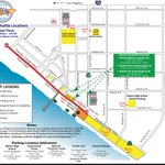 Enter at Beach Blvd for event parking. If youre dropping off, please view the map for approved zones. https://t.co/GmhfZ0xb3b