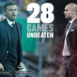 Luis Enrique equals Pep Guardiola's 28-match unbeaten streak for FC Barcelona https://t.co/357hfB7YwU #fcblive https://t.co/CKV1snAc7W