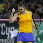ROMANIA 2-1 CZECH REP: Halep defeats Kvitova 64 36 64 to put Romania a point away from their first ever semifinal! https://t.co/JS8O1FFm00