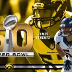 Good luck to James Ferentz in #SB50   #NFLHawks #Hawkeyes https://t.co/vOKM8leYHZ