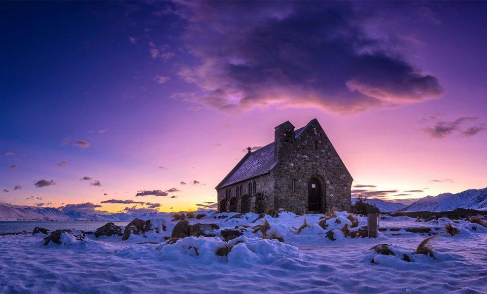 Church At Lake Tekapo, New Zealand | Photography by ©Timothy Poulton https://t.co/qaKzdXura3