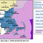 Winter Storm Watch for much of eastern MA for a storm from late Sunday night - Monday. https://t.co/EkLBGXNG4Z https://t.co/q1DdZMzCvd