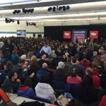 Packed crowd @marcorubio event in Londonderry, NH this morning following #GOPDebate https://t.co/q295GQg3b7