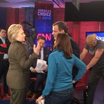 .@HillaryClinton and @ChrisChristie face-to-face with @jaketapper on the New Hampshire set of #CNNSotu https://t.co/jvlXgwNgnc