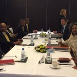 MDP & AP meeting Foreign Ministers of Guyana, Kenya & FS of India; members of CMAG. @AMB_A_Mohammed @MDPSecretariat https://t.co/n95sooZ3MI