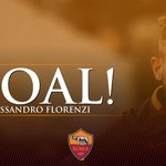 45: GOOOOOOOOOOL!!!ALESSANDRO FLORENZI!!! È tornato!!! #RomaSamp 1-0 https://t.co/nXKsf31J3v @Florenzi https://t.co/JnXzA9G1hl