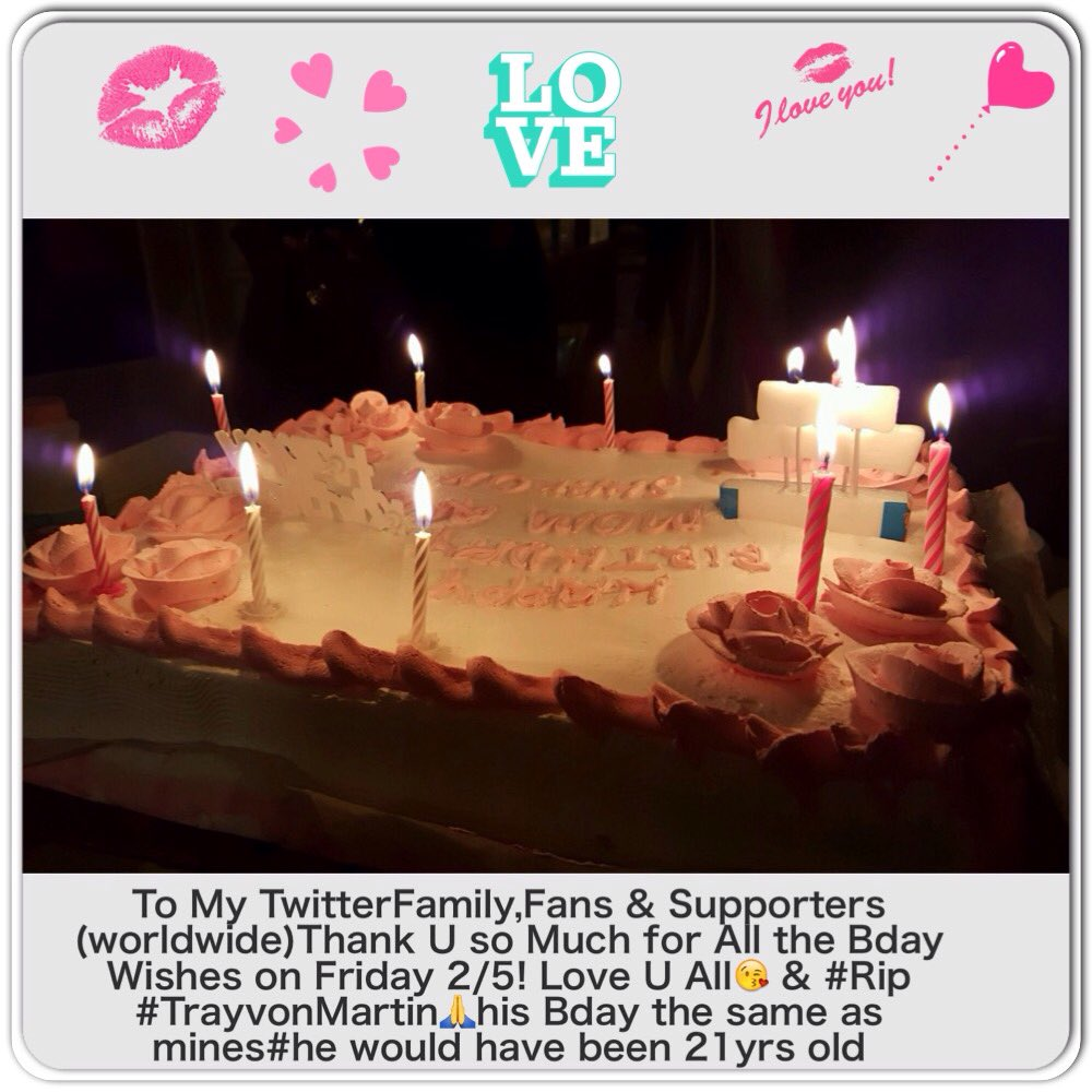 (Worldwide) Thank you So Much,for All the Bday Love on Friday 2/5❤️??? 5Rp91TXlEI