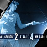 Final: UNC 4, Georgia 2. COP secures win to send Carolina to Mondays championship match! https://t.co/3dCcFABDvw
