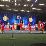 A strong routine by the Rebels of West Monroe HS in the Small Varsity Div. I Finals! #UCAnationals https://t.co/oMULr14ND1