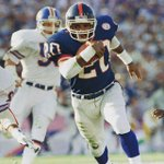 Orange alum Joe Morris had 67 rush yds, 4 receptions & a TD to help lead the @Giants to victory in #SuperBowl XXI https://t.co/wuFgG5bl7a