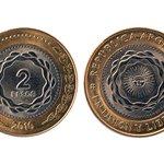 ¡¡Ojito!! Estos son 2 pesos argentinos Las pasan por 1 euro pero realmente valen 0,12 € ¡Que no te la cuelen! https://t.co/4YJpHjFGx3