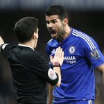 #SoccerChatPH This is Costa  Costa has no respect for Referee  Costa shout & bully players...  Dont be like Costa https://t.co/o7DpP53bwl