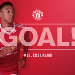 61 - GOAAAL! Chelsea 0 United 1. Jesse Lingard gives the Reds the lead with a fantastic strike! #mufc https://t.co/tV6vOTc80k