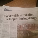 Thank you @prestoncouncil staf Flood wall is saved after tree topples during deluge https://t.co/g0vbbrelCD https://t.co/JYVZ227JkQ