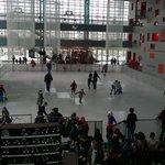 #Angers @LeQuai Forum en mode patinoire;la future tt schuss :-)) https://t.co/tVlHtMIesW