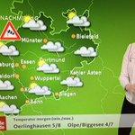 Das Wetter am #Rosenmontag in vier Bildern. Es wird definitiv stürmisch, auch in #Köln, #Düsseldorf und #Bonn. https://t.co/ExDAr6XoAh