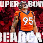 Tonights the night! 5 hours till former #Bearcats DT Derek Wolfe & the #Broncos kickoff #SB50! RT to wish him luck! https://t.co/uN8XaLuZr0