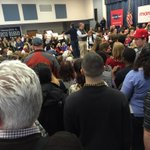 Marco event moved to larger venue. Already packed. https://t.co/U2mrqnTnSq