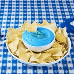 Maybe we overdid it with our blue dip, but we're going all out for #PepsiHalftime! https://t.co/RmD6F4uI5X