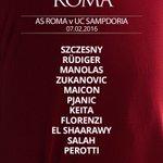Ecco la formazione iniziale scelta da Luciano #Spalletti per #RomaSamp https://t.co/mirHh6ztqE https://t.co/AAAj9FB0Iy