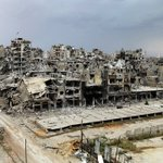 Homs, Syria. So thats indeed where you mean when you tell refugees to go back home. https://t.co/tkimdQlgGT https://t.co/eMCY69NlDV