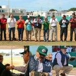 Me tocó ser catcher de la primera bola en el torneo de baseball en #Progreso ¡Gracias por la invitación! #CercaDeTí https://t.co/zv1ZKpiWyH