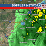 2:25pm-Widespread rain mainly east of I-95. Some snow in Florence. #scwx https://t.co/3LVfcdBoX2