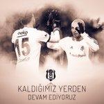 Kaldığımız yerden emin adımlarla yolumuza devam ediyoruz. #Beşiktaş #Beşiktaşk https://t.co/YmYHVY4QJ7