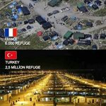 Frances refugee camps a very far cry from Turkeys... https://t.co/29cIf1b1Bk