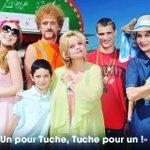 """""""Un pour Tuche, Tuche pour un"""" ! #LesTuche, cest MAINTENANT sur #TF1 ! Tuche à vos RT si vous êtes devant ???????????? https://t.co/rqjYrBP2cJ"""