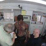 It takes way too many hours to paint @the_ryan_kelley into a Hellhound: https://t.co/BYJ0I4KShe https://t.co/c28hhrJjhv