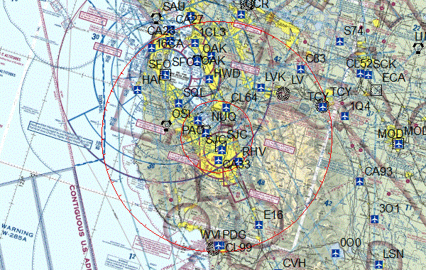 Pilots: SB50 security flight restrictions begin at 2pm PT - check NOTAMs before you fly: